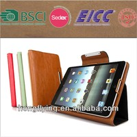 Leather notebook style Case for iPad mini with standing function