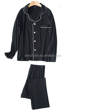 wholesale customize design comfortable male night dress gown for men