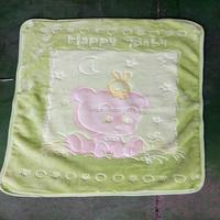 100 polyester baby soft new design blanket