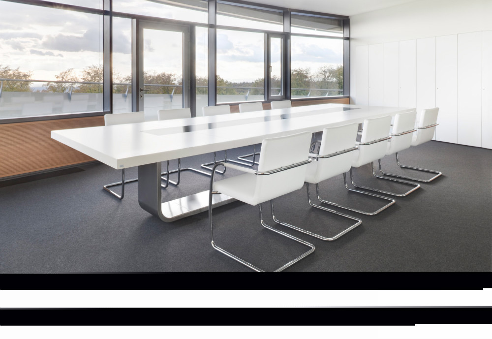 Simple design high quality meeting room furniture 10ft for Table design 10 personnes