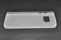 Wholesale clear ultra thin slim soft tpu case back cover for Samsung Galaxy S6 Edge