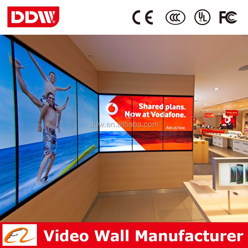55 Inch Foxconn Video Wall Rack Free Project Proposal Interactive Seamless Video Wall System