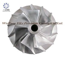 Aiuminum alloy compressor impeller for nissan diesel truck spare parts