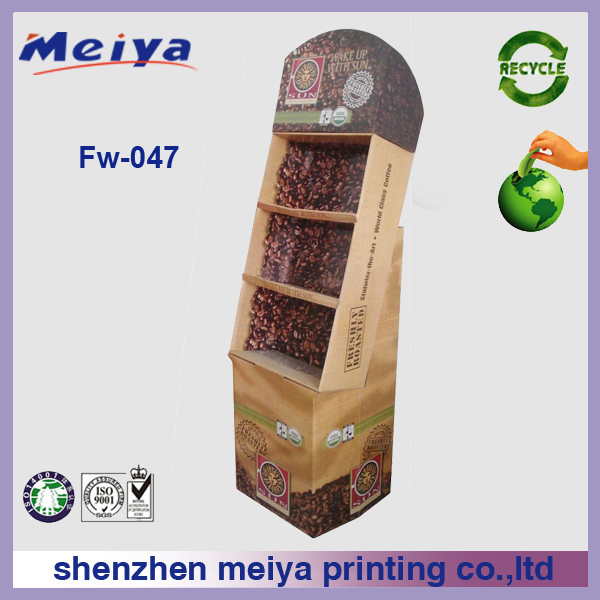 cardboard advertising display stands custom cardboard advertising display stands free standing professional manufacturer meiya