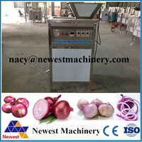 Industrial used fresh onion skin peeler/red onion skin removing machine/automatic onion peeler reasonable price