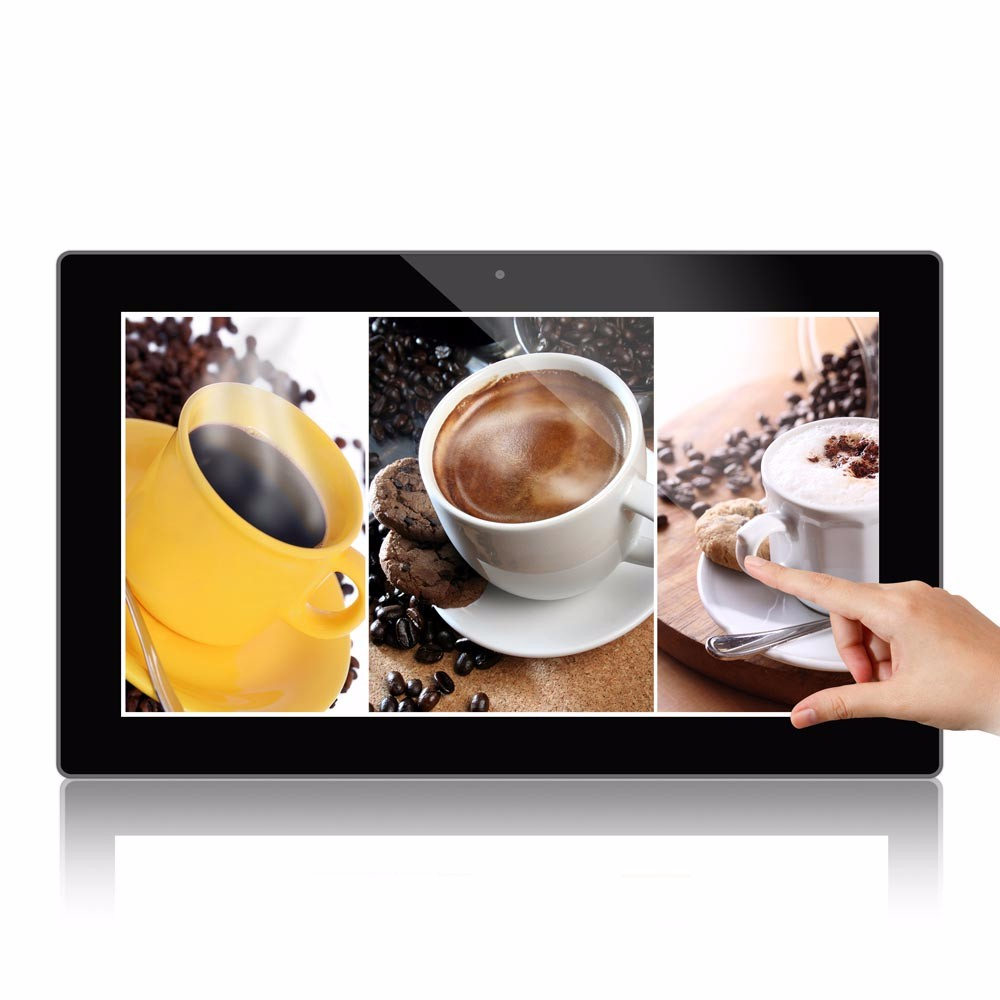 hd panel 21.5 inch Android Touch Screen digital advertising player