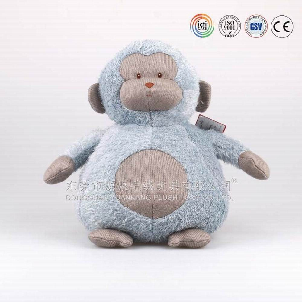 ICTI factory direct selling chinese new year 2016 monkey plush toy