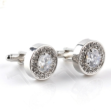 High Quality  Fashion Luxury  Diamond Cufflink