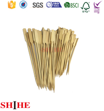 Wholesale Eco-friendly Bbq Natural Teppo Bamboo Skewers