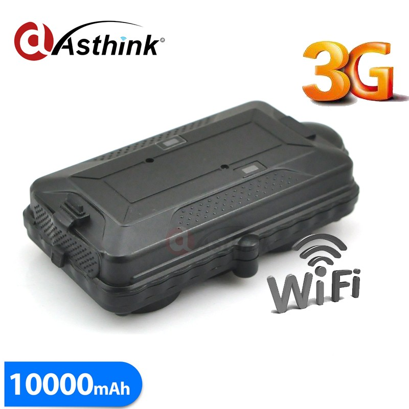 3G WCDMA Car GPS Tracker Long battery Life Wifi Tracking Vehilce with Big Magnet cover,drop alert <strong>sensor</strong>