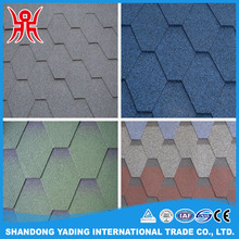 Fish scale Asphalt Shingles / bitumen roofing tile