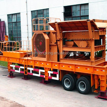 Small Scale Mining Portable Rock Crusher