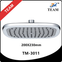 TM-3011 square plastic top shower head