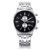 factory wholesale 3atm water resistant stainless steel watch back best high end sports watches