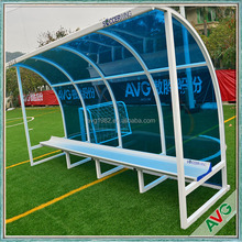 Outdoor Football Substitute Bench Coach Chair Aluminum Material