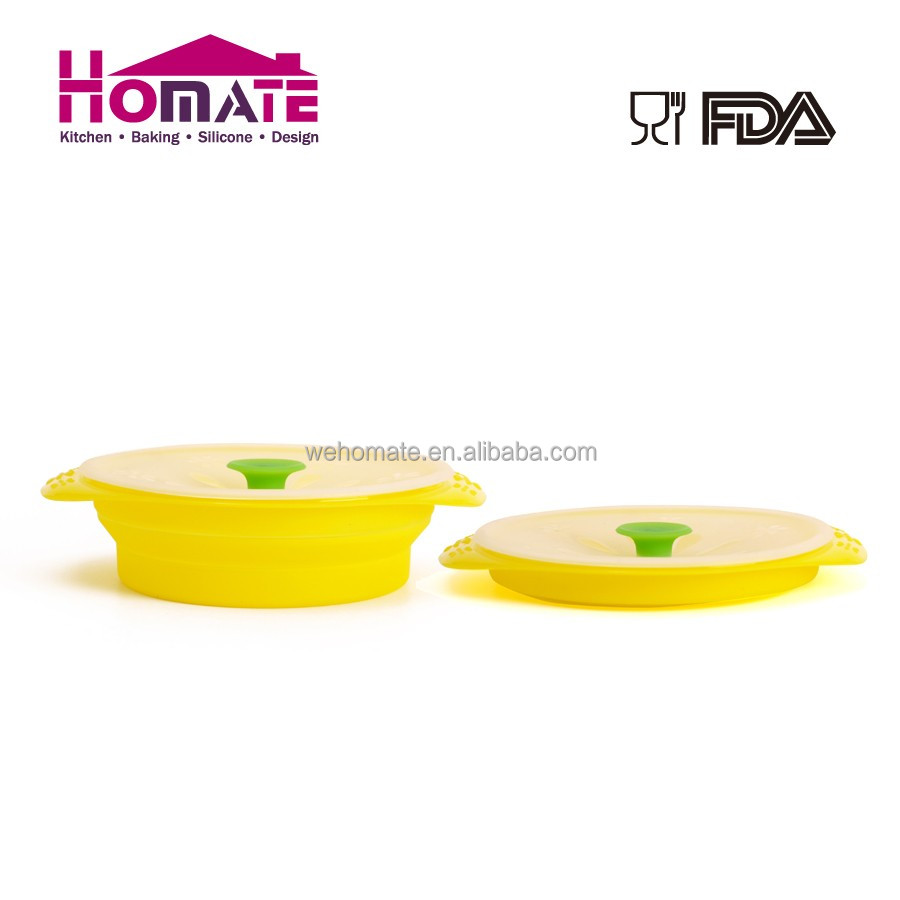 China Manufacturer Excellent Quality Best Design Foldable Microwave Baby Silicone Food Steamer