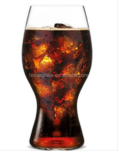 Handmade glass mug with stem/craft beer glass,Hot Sale World Cup Beer Glass