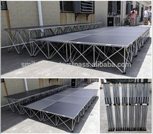 Promotion price on sale aluminum portable outdoor stage event stage platform for event ,wedding ,concert
