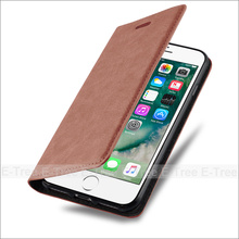 2017 Wholesale Factory Price Magnetic Wallet Card Slot Leather Phone Cases For iPhone 7 Flip Case