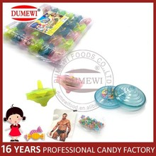 Tattoo Gift Spinning Top Candy Toy Gyro Kids Toys