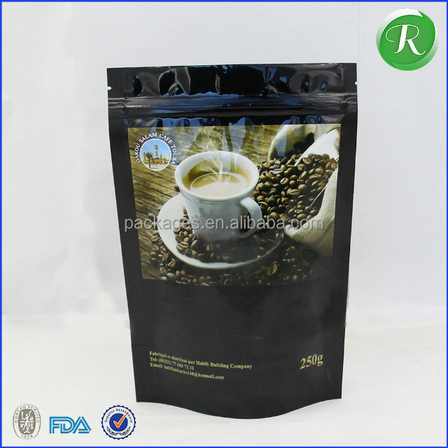 3 seal pouch food Printing Manufacturer Tea Packaging Vacuum Plastic Bag