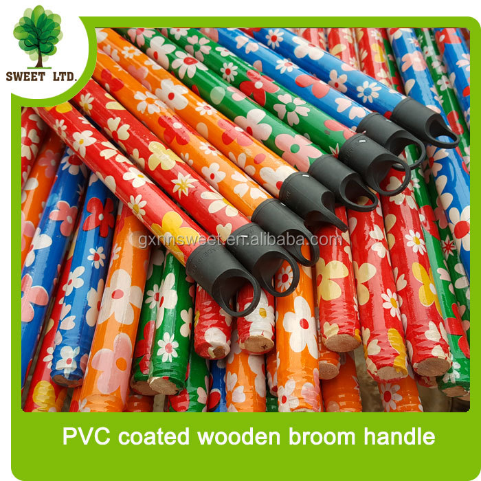 wholesale flower broom handle wooden sticks