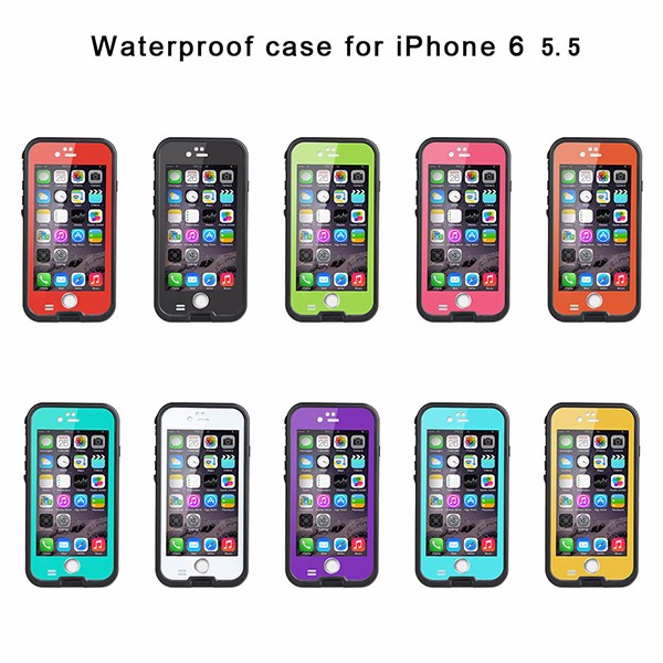 for mobile phone 6 6s plus case redpepper waterproof cases