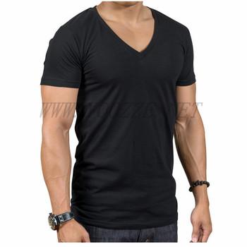 Tight mens v shape t shirt buy v shape t shirt mens t for Tight collar t shirts