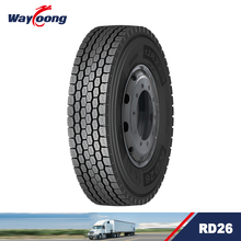 RD26 trailer tires 12r22.5 tubeless truck tyre for long distance