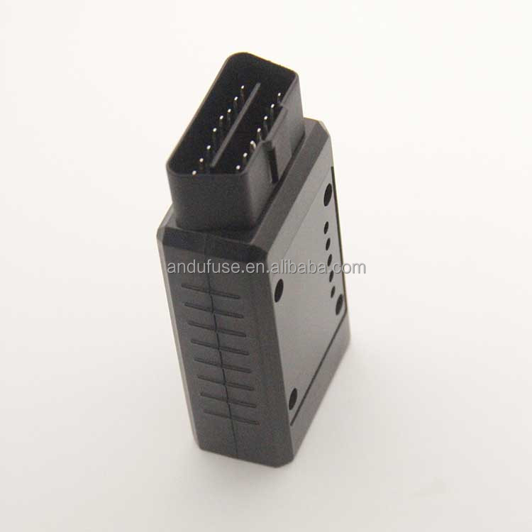 Andu OBD2 cable to OBD male and female truck diagnostic tool