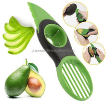Hot New As seen on TV 3-in-1 Avocado Slicer Splits Slices Sharp Pitter Peeler Kitchen Gadgets Tool