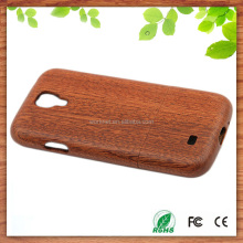 wholesale wood mobile phone case for samsung galaxy s4 rose wood hard cover