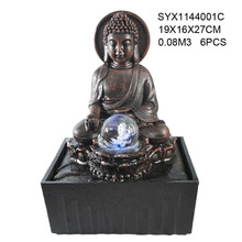 Buddha Resin Water Fountain