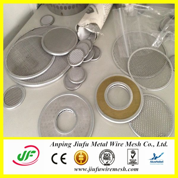 Anping Jiufu Stainless Steel Extruder Screen Mesh Disc(14 Years Factory)