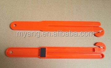 magnetic twine knife Twin blade with magnet/Twin blade with magnet/rope blade with magnet
