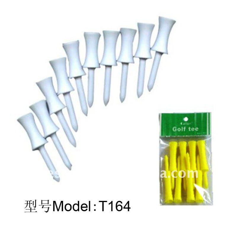 T164 Plastic Step Down Golf Tee Manufacturer& Export