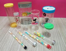 Customized Screw Cap Plastic Test Tube