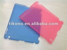2012 new designs frosted hard case for new ipad 3