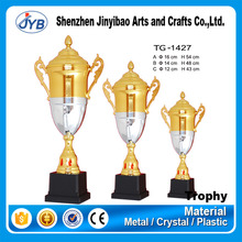 customized stainless steel sculpture trophy with different shapes