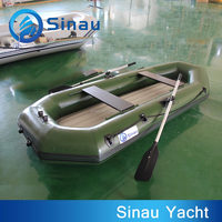 rubber boat pvc inflatable boat 250cm 3 person