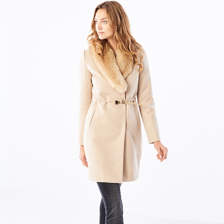 Fake wool coat for women,fashion fake wool coat