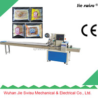Biscuit Lollipop Chocolate Bar Automatic Horizontal Flow Packing Machine