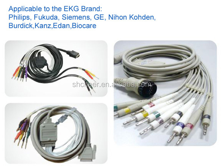 SH-cheer, ECG Cable and ECG lead wires, manufacturer