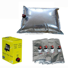 Custom Aluminum Foil bag in box 3 liter Empty Bag In Box /Wine Bag In Box Packaging