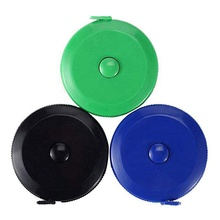 Various Colors 1.5m Mini Custom Your Logo Plastic ABS Retractable Printed Tailor Measuring Tape Measure
