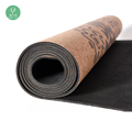 Extra Large Natural Rubber Folding Cork Yoga Mat