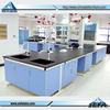 Professional Laboratory Furniture Design C-Frame Steel Wood Resistop Phenolic