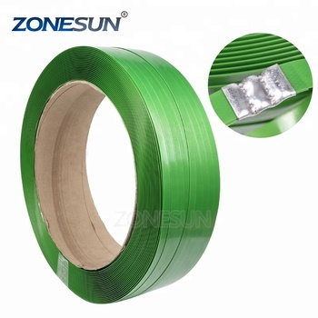 ZONESUN hot sell Strong Tension Packing PET Strap / Strapping Band Best Price For sale strapping machinery