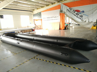 Hot Sale 8m Inflatable Boats Voyager Inflatable Boat Zebec Inflatable Rescue Boat for jet ski