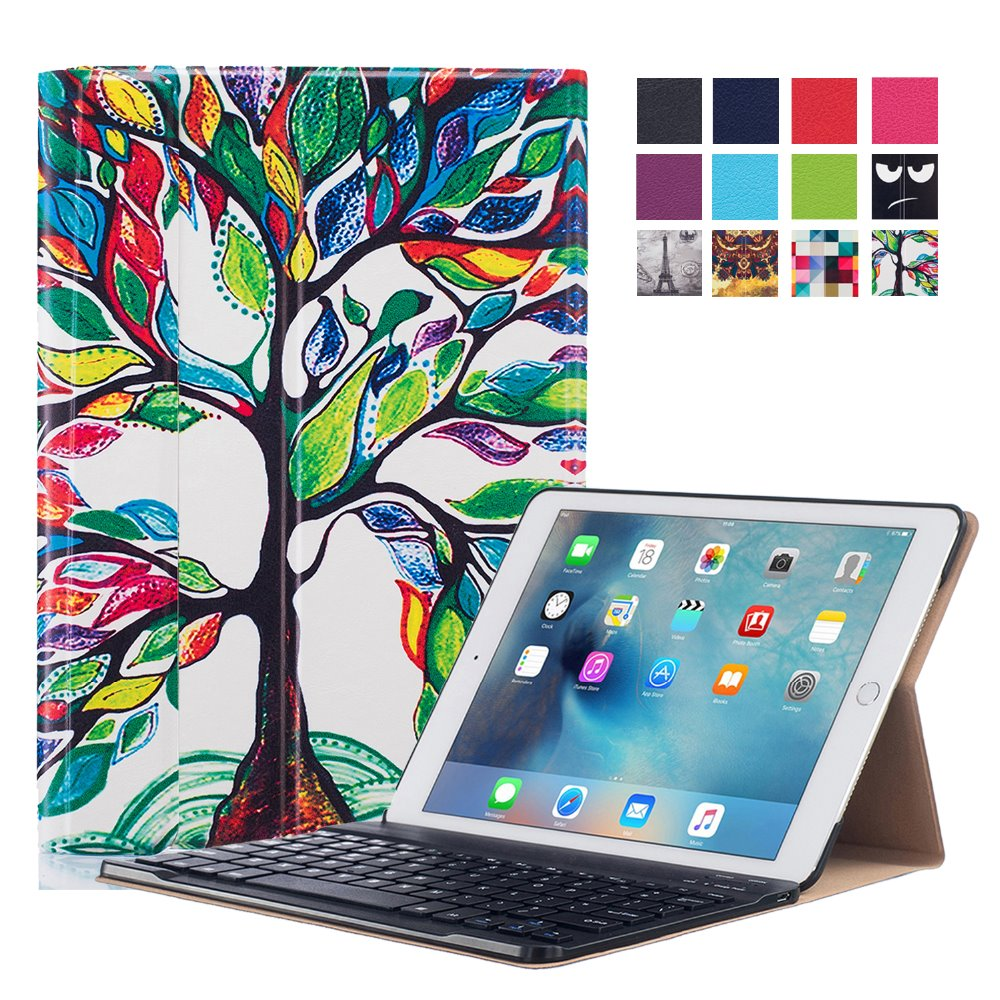 love tree tablet case For iPad pro 9.7 Keyboard Cases
